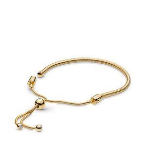 Pandora Shine Snake Chain Sliding Bracelet